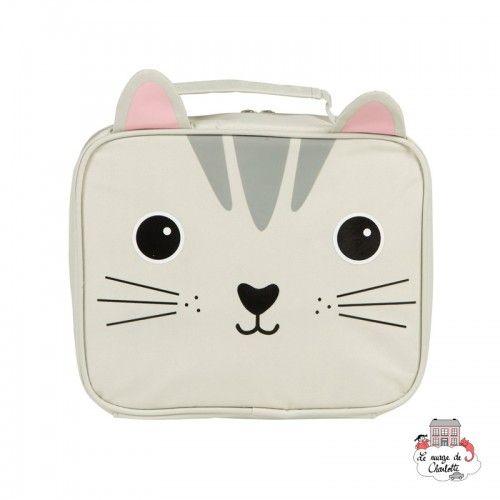 Sac à lunch - Nori Cat Kawaii Friends - S&B-VAL046 - Sass & Belle - Accueil - Le Nuage de Charlotte