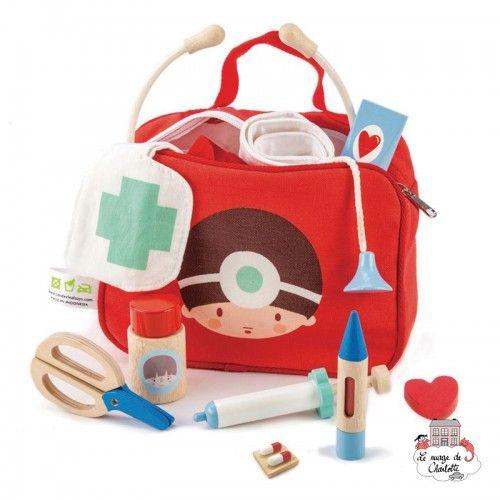 Ensemble de médecins et d'infirmières - TLT-8113 - Tender Leaf Toys - Pour faire comme les grands - Le Nuage de Charlotte