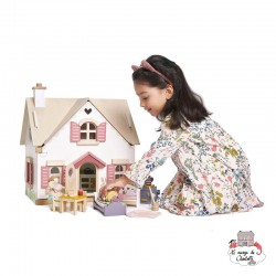 Cottontail Cottage - TLT-8123 - Tender Leaf Toys - Doll's Houses - Le Nuage de Charlotte