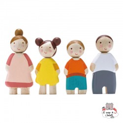 The Leaf Family - TLT-8141 - Tender Leaf Toys - Doll's Houses - Le Nuage de Charlotte
