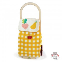 Pull Along Shopping Trolley - TLT-8254Y - Tender Leaf Toys - Shop - Le Nuage de Charlotte