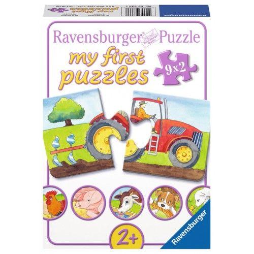 On the Farm - RAV-073337 - Ravensburger - For littles - Le Nuage de Charlotte