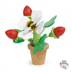 Strawberry Flower Pot - TLT-8356 - Tender Leaf Toys - DIY and Gardening - Le Nuage de Charlotte