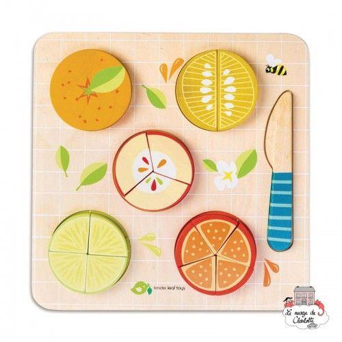 Citrus Fractions - TLT-8414 - Tender Leaf Toys - Numbers and Letters - Le Nuage de Charlotte