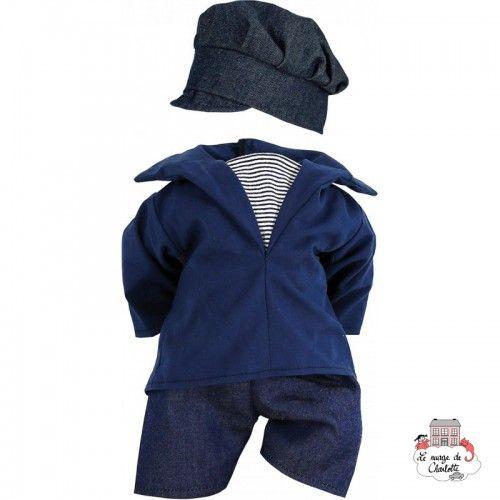 """Dressing """"Marin"""" 40 cm - PCO-P504044 - Petitcollin - Doll's Accessories - Le Nuage de Charlotte"""