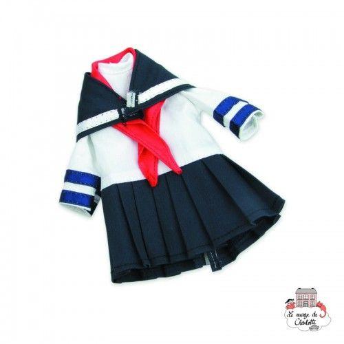 """Dressing """"Justine"""" for 27 cm doll - PCO-P502701 - Petitcollin - Doll's Accessories - Le Nuage de Charlotte"""