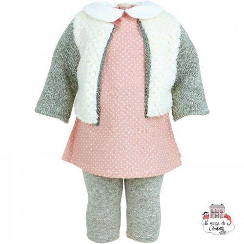 """Dressing """"Orsay"""" for 40 cm doll - PCO-P504053 - Petitcollin - Doll's Accessories - Le Nuage de Charlotte"""