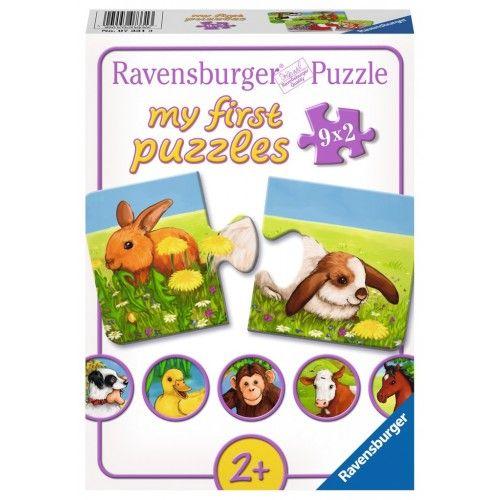 Lovely Animals - RAV-073313 - Ravensburger - For littles - Le Nuage de Charlotte