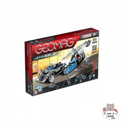 Geomag Wheels Fast Chase - GEO-782 - Geomag - Magnetic elements - Le Nuage de Charlotte