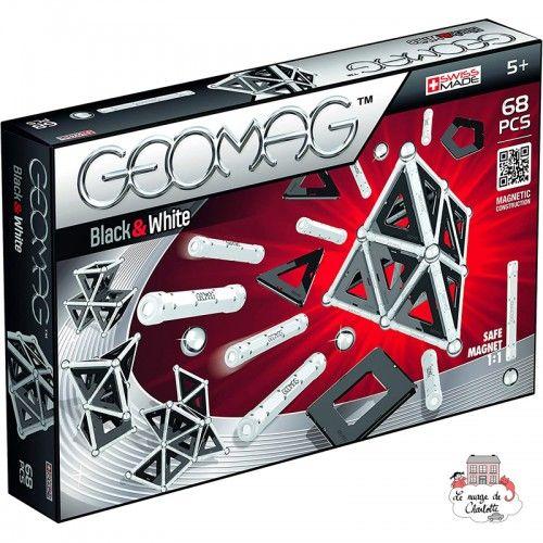 Geomag Black&White 68 - GEO-012 - Geomag - Magnetic elements - Le Nuage de Charlotte