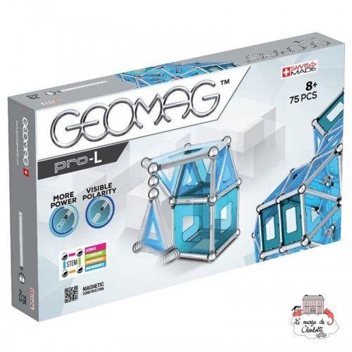 Geomag Pro-L 75 - GEO-023 - Geomag - Magnetic elements - Le Nuage de Charlotte