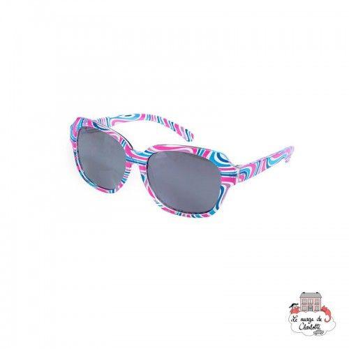 Sunglasses - Pink/Blue Lines - EGT-170382 - Egmont Toys - Sunglasses - Le Nuage de Charlotte
