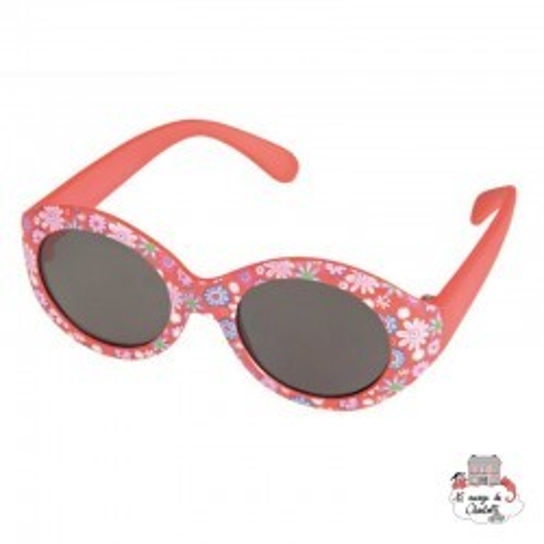 Sunglasses - Red & Flowers - EGT-170395 - Egmont Toys - Sunglasses - Le Nuage de Charlotte
