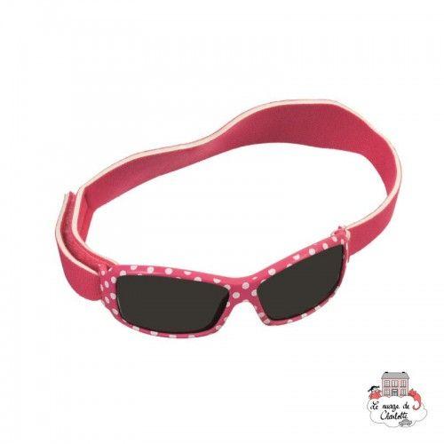 Sunglasses - Fushia & Dots with Strap - EGT-170399 - Egmont Toys - Sunglasses - Le Nuage de Charlotte