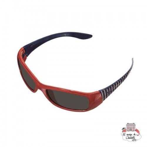 Sunglasses - Red/Blue Stripes - EGT170402 - Egmont Toys - Sunglasses - Le Nuage de Charlotte
