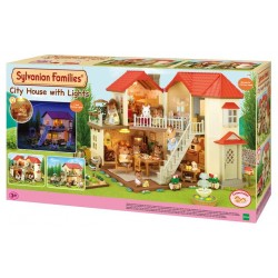 City House with Lights - EPO-2752 - Epoch Traumwiesen - Sylvanian Families - Le Nuage de Charlotte