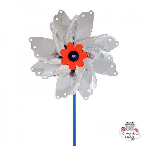 Big Butterfly Pinwheel 35 cm - BLU-402 - Basso Luigi - Pinwheel - Le Nuage de Charlotte