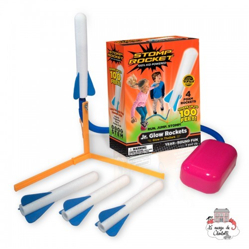 Stomp Rocket Jr. Glow Rocket - DLC-1620005 - D&L Company - Outdoor Play - Le Nuage de Charlotte