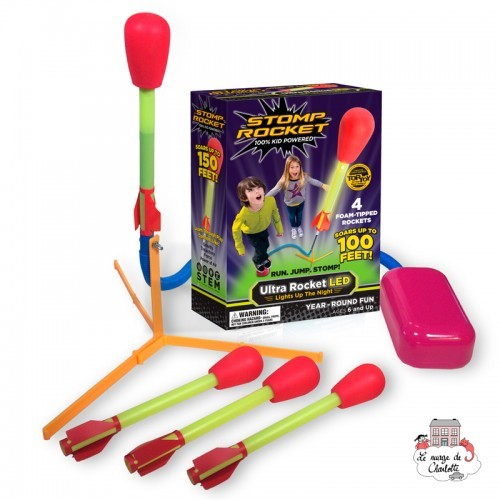 Stomp Rocket Ultra Rocket LED - DLC-1620500 - D&L Company - Outdoor Play - Le Nuage de Charlotte