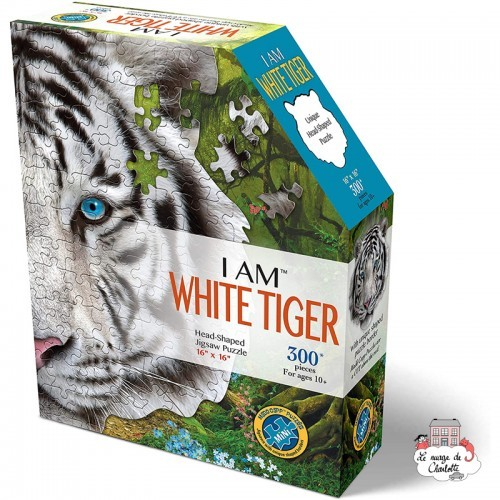 I AM - White Tiger - MDC-022119 - MaDDCaPP - 300 pieces - Le Nuage de Charlotte
