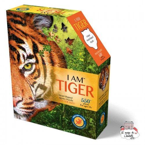 I AM - Tiger - MDC-5123005 - MaDDCaPP - 500 pieces - Le Nuage de Charlotte