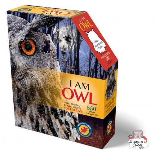 I AM - Owl - MDC-5123013 - MaDDCaPP - 500 pieces - Le Nuage de Charlotte