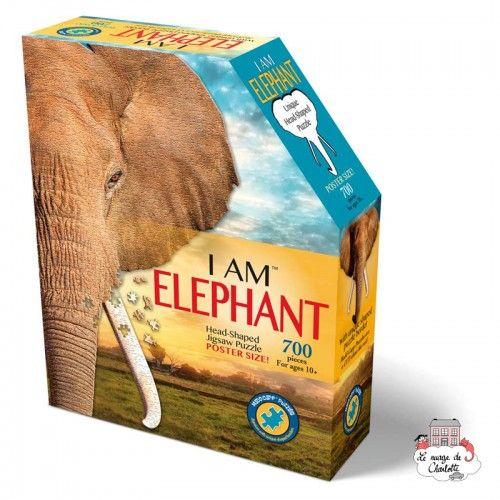 I AM - Elephant - MDC-5123007 - MaDDCaPP - 500 pieces - Le Nuage de Charlotte