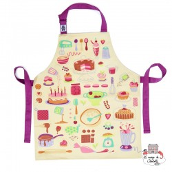 Let's Bake Cotton Apron - TBD-8864028 - ThreadBear design - Aprons - Le Nuage de Charlotte