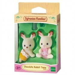 Chocolate Rabbit Twin Babies