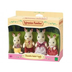 Chocolate Rabbit Family