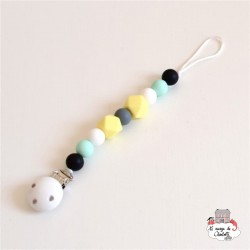 mamiBB Pacifier Clip Buenos Aires - MBB-2129 - mamiBB - Soother Chain - Le Nuage de Charlotte