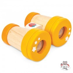 Wooden Binoculars - LTV-PL116 - Le Toy Van - For doing like the grown-ups - Le Nuage de Charlotte