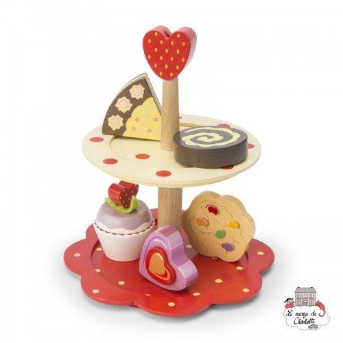 2 Tier Cake Stand Set - LTV-TV309 - Le Toy Van - Shop - Le Nuage de Charlotte