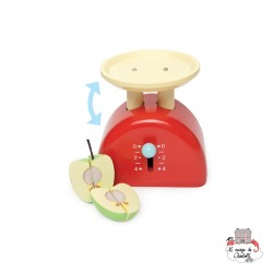 Weighing Scale - LTV-TV289 - Le Toy Van - Kitchen, Household and Dinnerware Set - Le Nuage de Charlotte