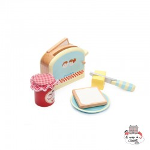 Toaster Set - LTV-TV287 - Le Toy Van - Kitchen, Household and Dinnerware Set - Le Nuage de Charlotte