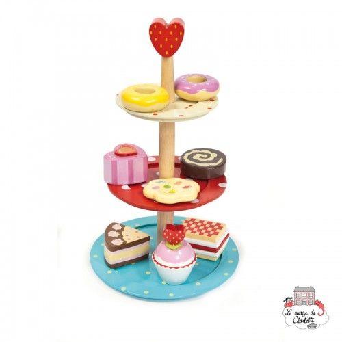 Cake Stand Set - LTV-TV283 - Le Toy Van - Shop - Le Nuage de Charlotte