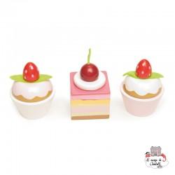 Petits Fours - LTV-TV278 - Le Toy Van - Kitchen, Household and Dinnerware Set - Le Nuage de Charlotte