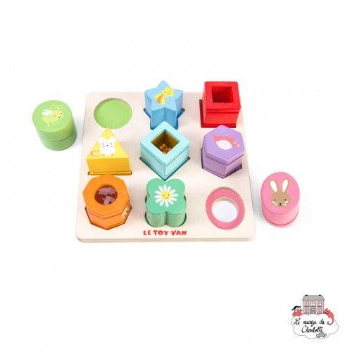 Petilou Sensory Shapes - LTV-PL089 - Le Toy Van - Prescholl - Le Nuage de Charlotte