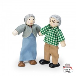Grandparents Set - LTV-P056 - Le Toy Van - Doll's Houses - Le Nuage de Charlotte