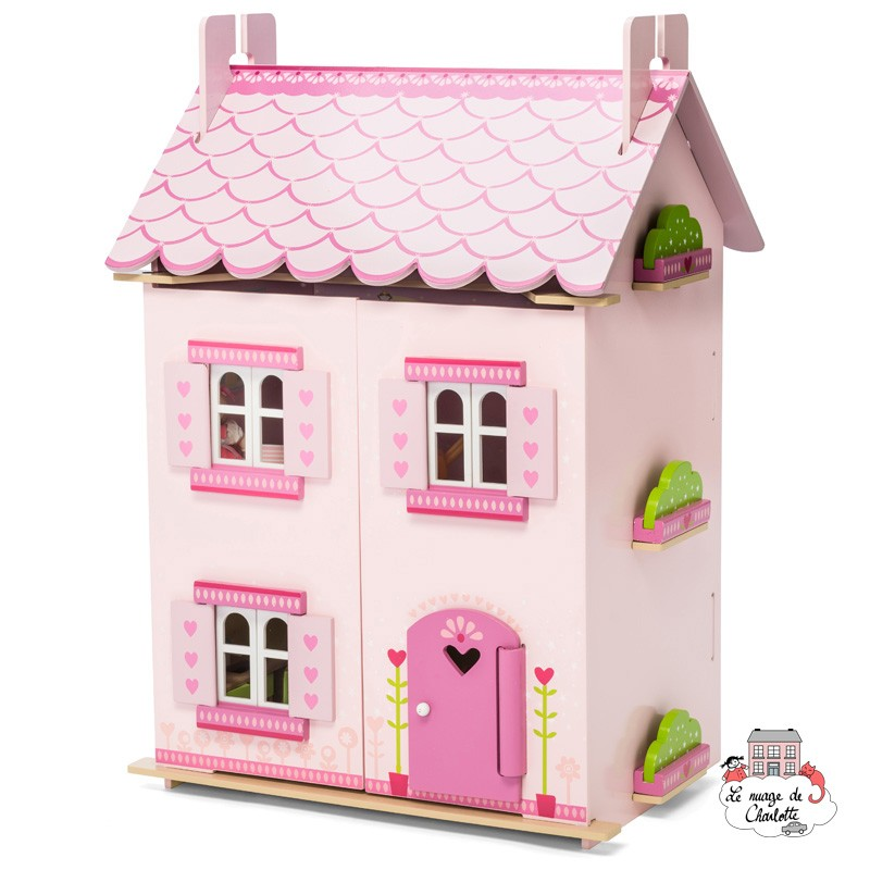 My First Dream House (with furniture) - LTV-H136 - Le Toy Van - Doll's Houses - Le Nuage de Charlotte