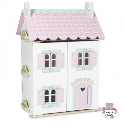 Sweetheart Cottage (with furniture) - LTV-H126 - Le Toy Van - Doll's Houses - Le Nuage de Charlotte