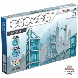 Geomag Pro-L Skyline New York - GEO-027 - Geomag - Magnetic elements - Le Nuage de Charlotte