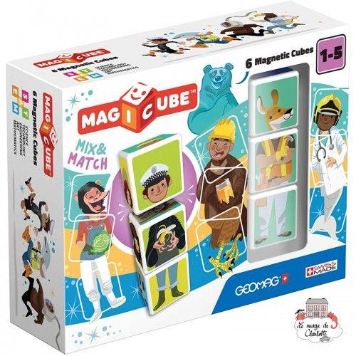 Geomag Magicube Mix & Match 6 - GEO-123 - Geomag - Magnetic elements - Le Nuage de Charlotte