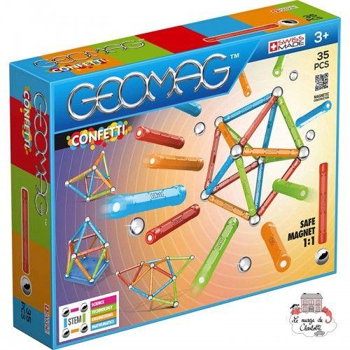 Geomag Confetti 35 - GEO-351 - Geomag - Éléments magnétiques - Le Nuage de Charlotte