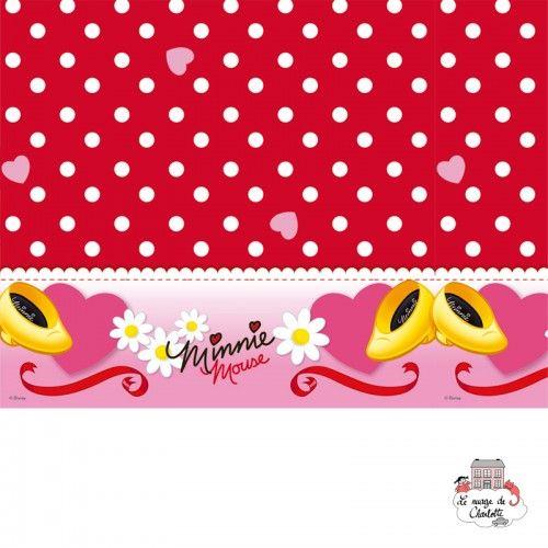 Plastic Tablecover Minnie 120 x 180 - 5201184801772 - - Decorations - Le Nuage de Charlotte