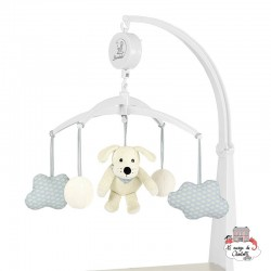 Musical Mobile Hardy the dog - STE-6101627 - Sterntaler - Mobile - Le Nuage de Charlotte
