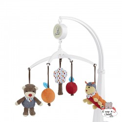 Musical Mobile Bobby the Bear - STE-6101729 - Sterntaler - Mobile - Le Nuage de Charlotte