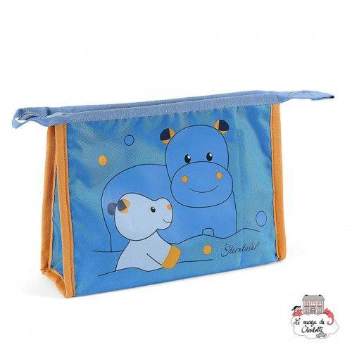 Toiletry bag - Norbet the Hippo - STE-9631620 - Sterntaler - Bathroom Accessories - Le Nuage de Charlotte