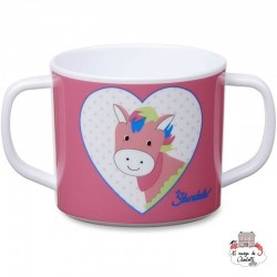 Cup with Handles - Peggy the Poney - STE-6841732 - Sterntaler - Eat and Drinks - Le Nuage de Charlotte