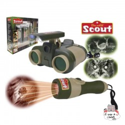 Scout Night Vision Set - HPL-19304 - Happy People - Discovery - Le Nuage de Charlotte